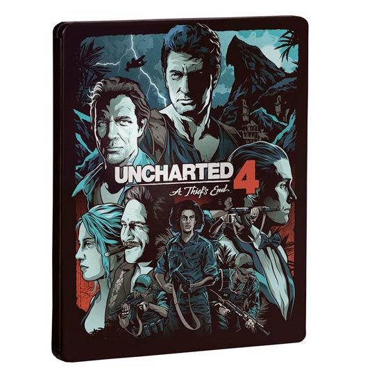 Uncharted 4: Путь вора (Uncharted 4: The Theft's End) Steelbook (Рус)