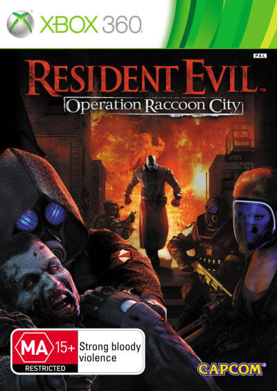 Resident Evil Operation Raccoon City (Руc)