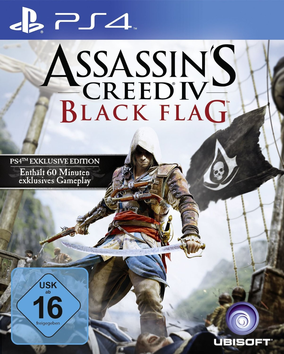 Assassins Creed 4 (IV): Black Flag (Чёрный Флаг) Bonus Edition (Рус)