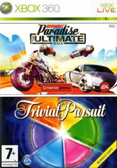 Комплект: Burnout Ultimate + Trivial Pursuit