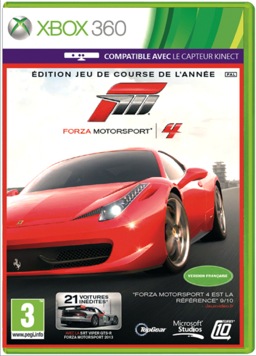 Forza Motorsport 4 Game of The Year Edition (поддерживает Kinect) (Рус)