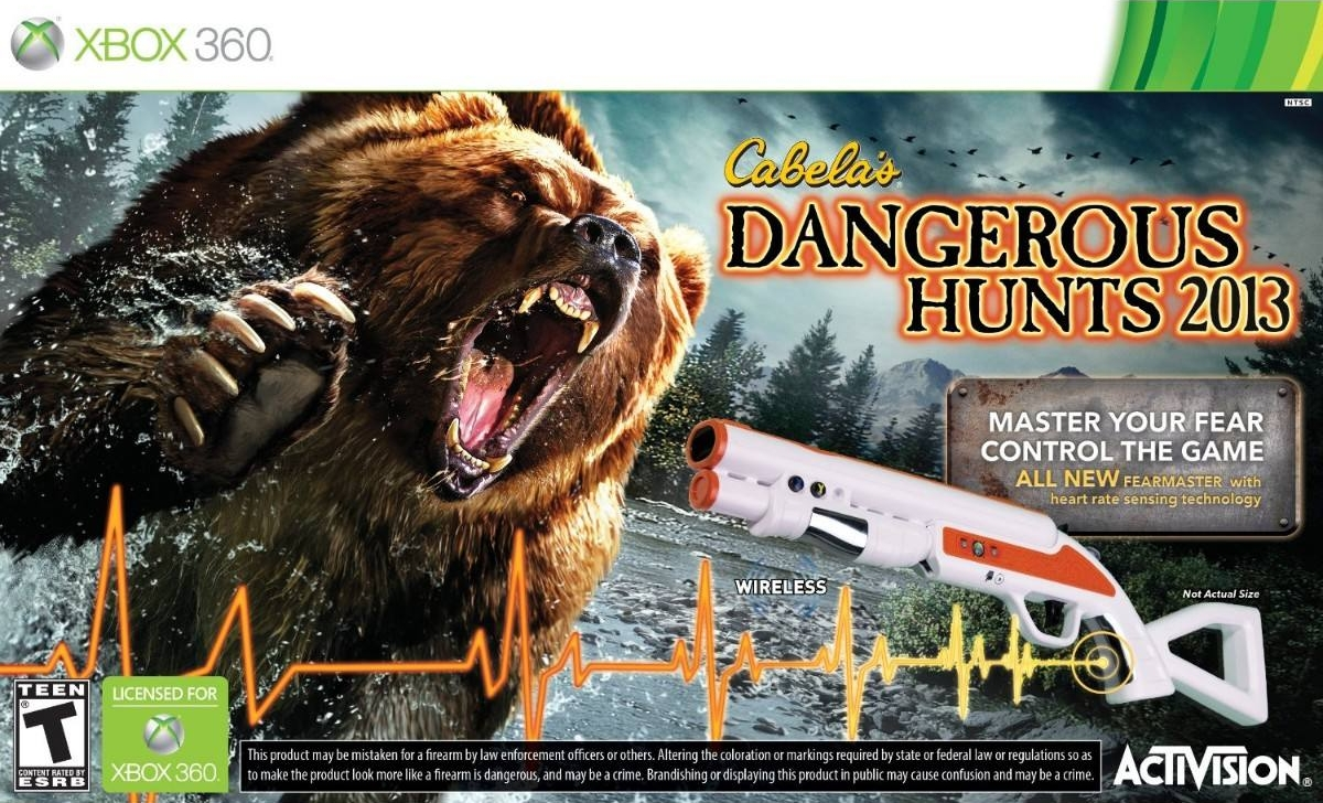 Cabela's Dangerous Hunts 2013 (Игра + Ружье)