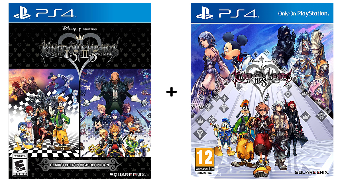 Kingdom Hearts HD 1.5 + 2.5 ReMIX + Kingdom Hearts HD 2.8: Final Chapter Prologue