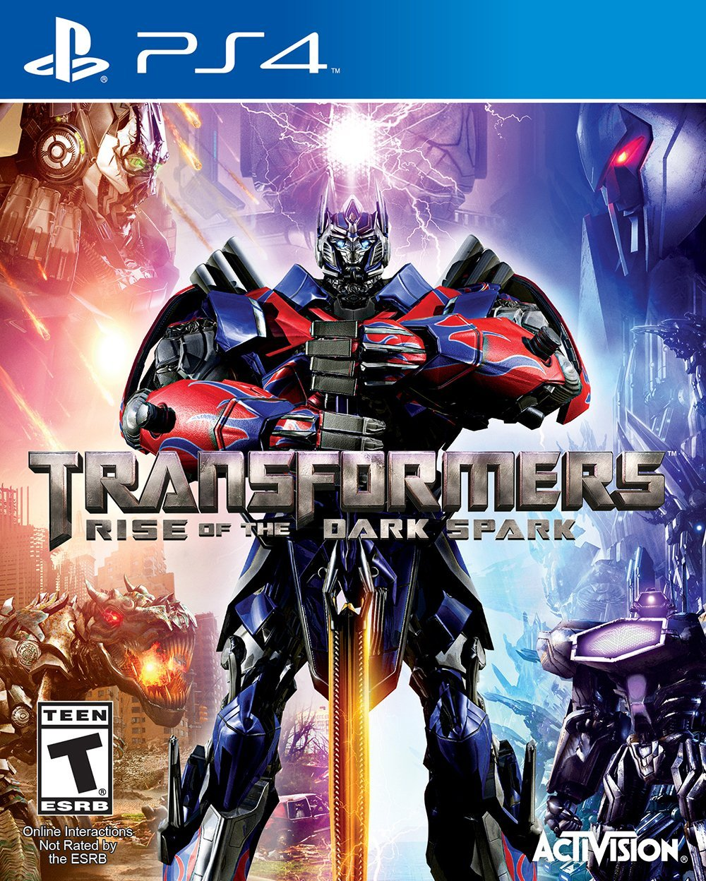 Transformers: ����� �� ������ ����� (Rise of the Dark Spark)