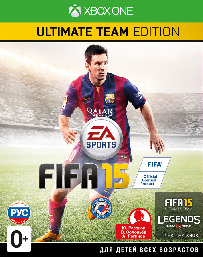 FIFA 15 Ultimate Team Edition (Рус)