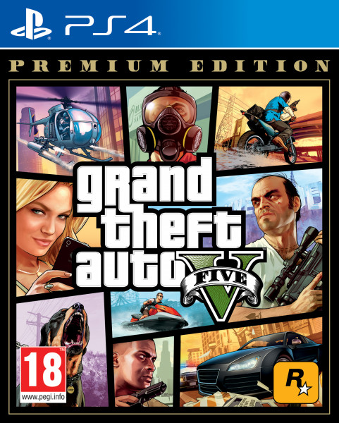 Grand Theft Auto V (GTA 5) Premium Edition (Рус)