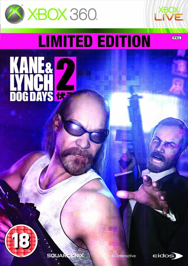 Kane and Lynch 2: Dog Days Limited Edition