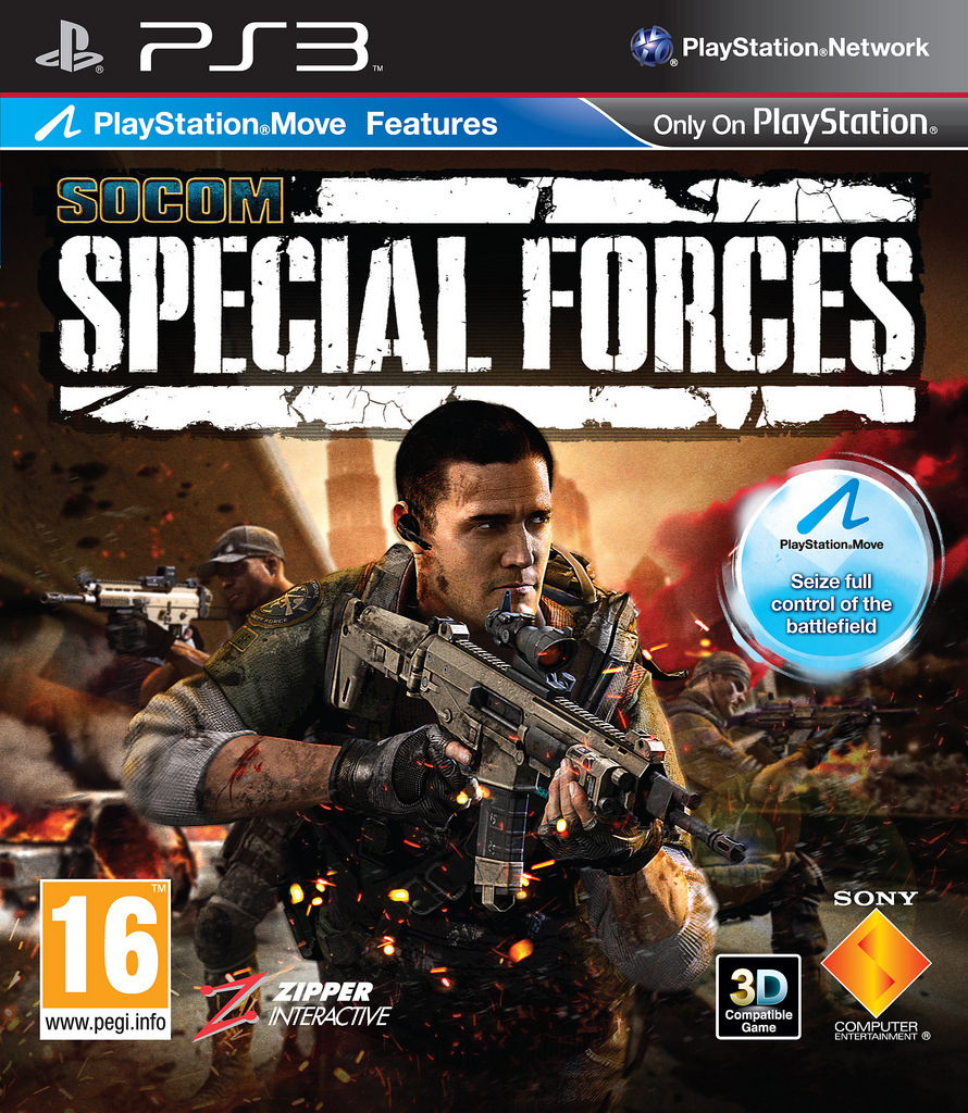 SOCOM: Special Forces (поддерживает PS Move)