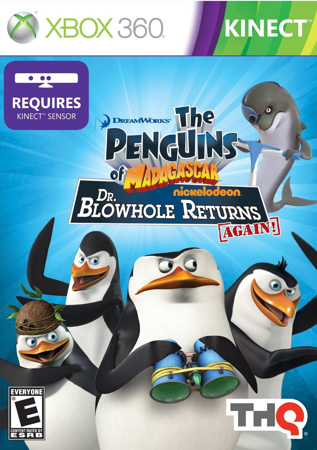Penguins of Madagascar: Dr. Blowhole Returns Again!