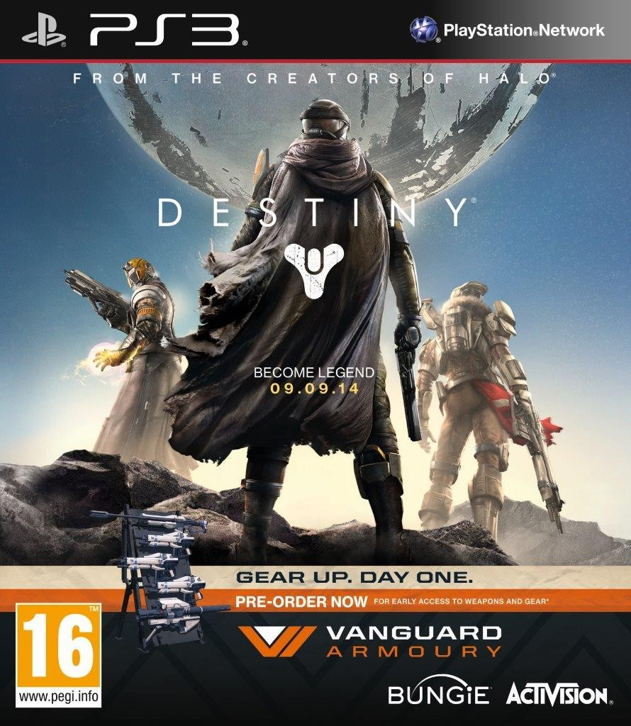 Destiny Vanguard Edition