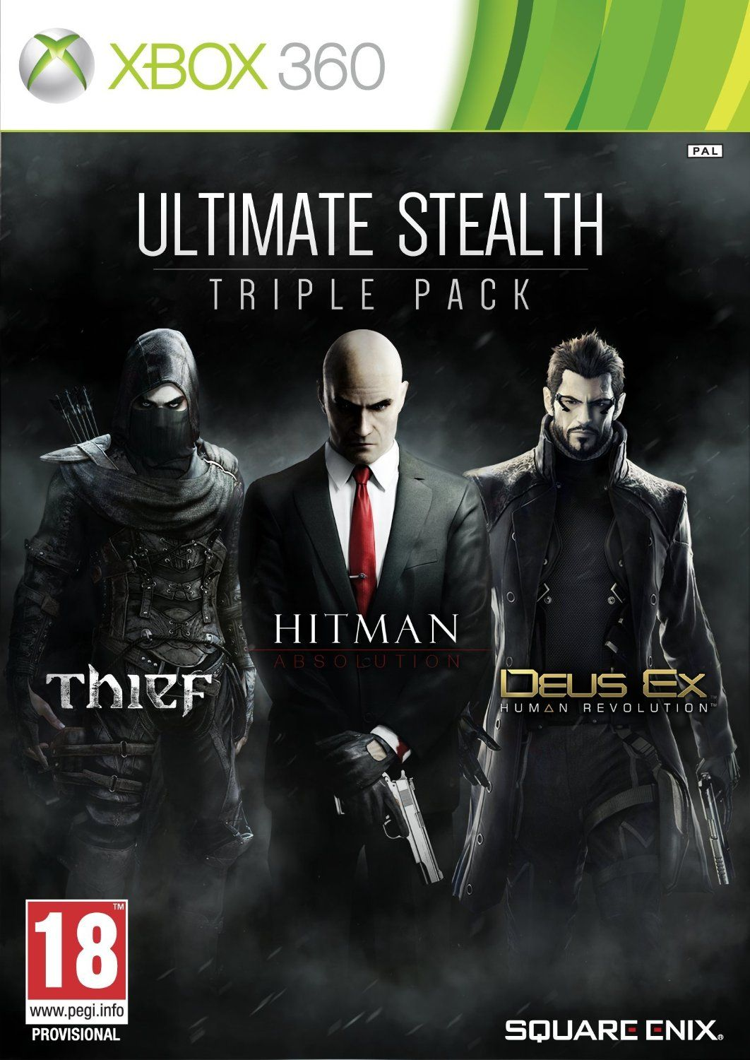 Ultimate Stealth Triple Pack (Hitmam Absolution + Thief + Deus Ex Human Revolution)