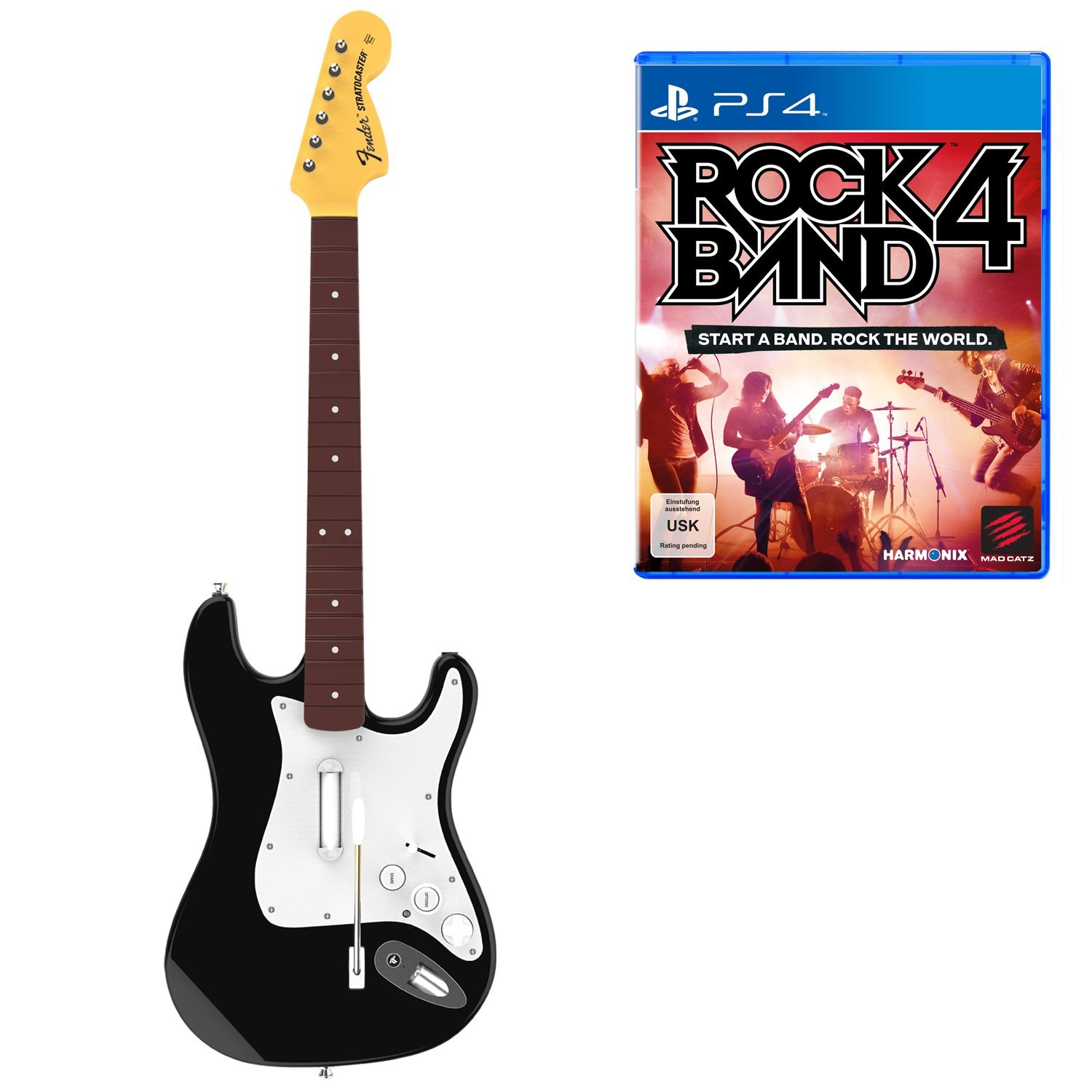 Rock Band 4 Stratocaster Bundle
