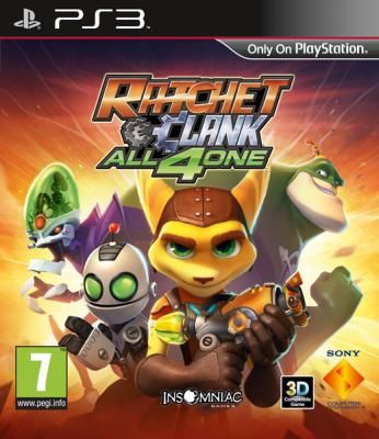 Ratchet & Clank: All 4 One (Рус)