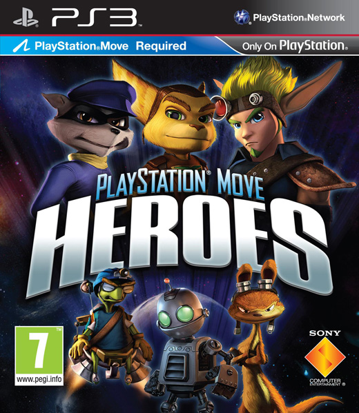 PlayStation Move Heroes (Герои PlayStation Move) (для PS Move) (Рус)