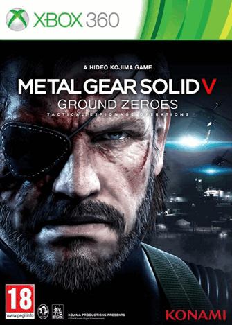 Metal Gear Solid V (5) Ground Zeroes (Рус)