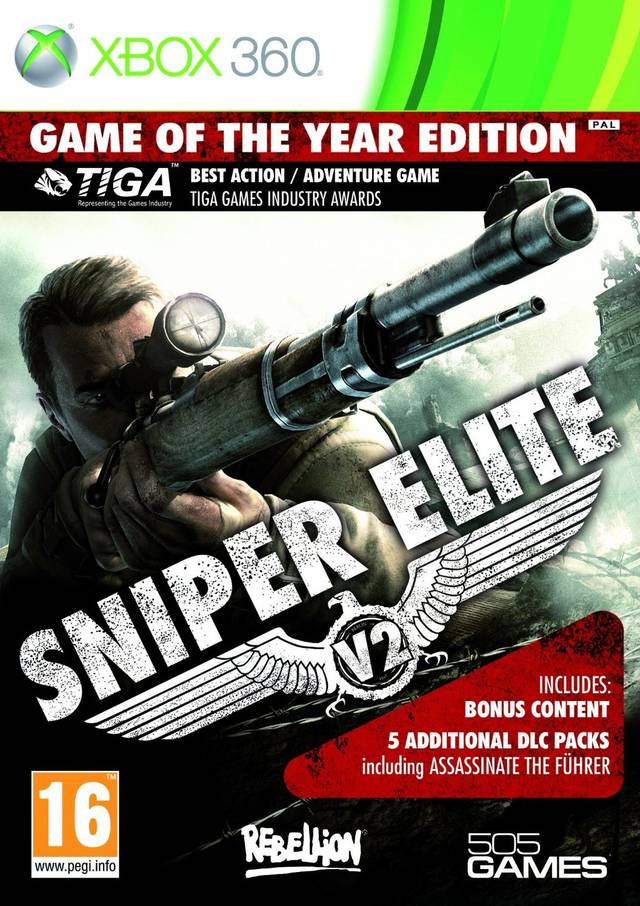 Sniper Elite V2: Game Of The Year Edition