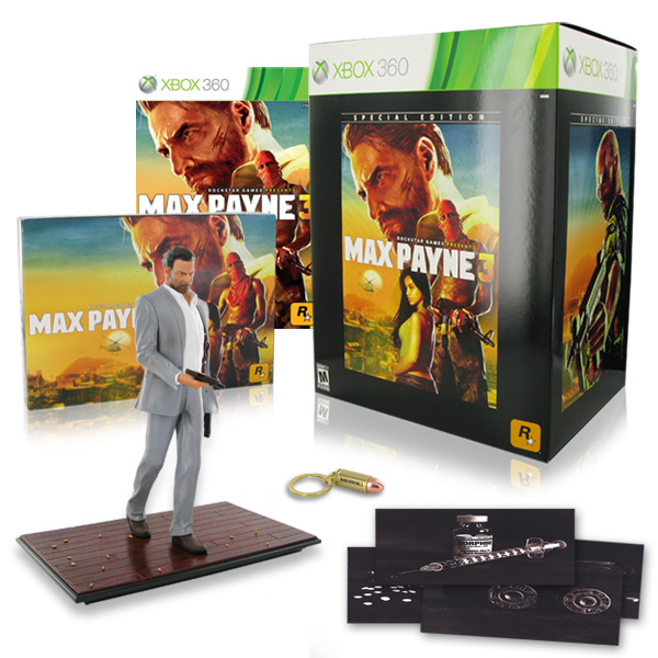 Max Payne 3 Special Edition (без диска)