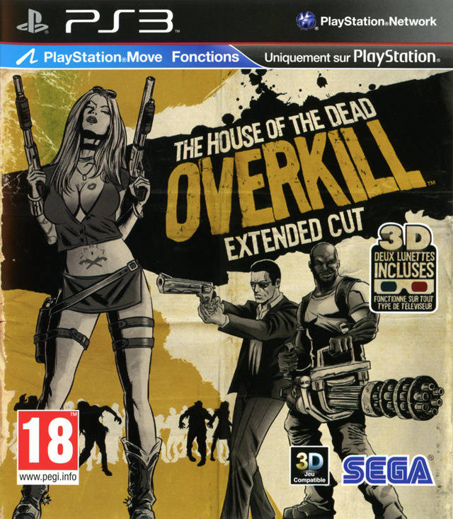House of the Dead Overkill - Extended Cut (поддерживает PS Move)