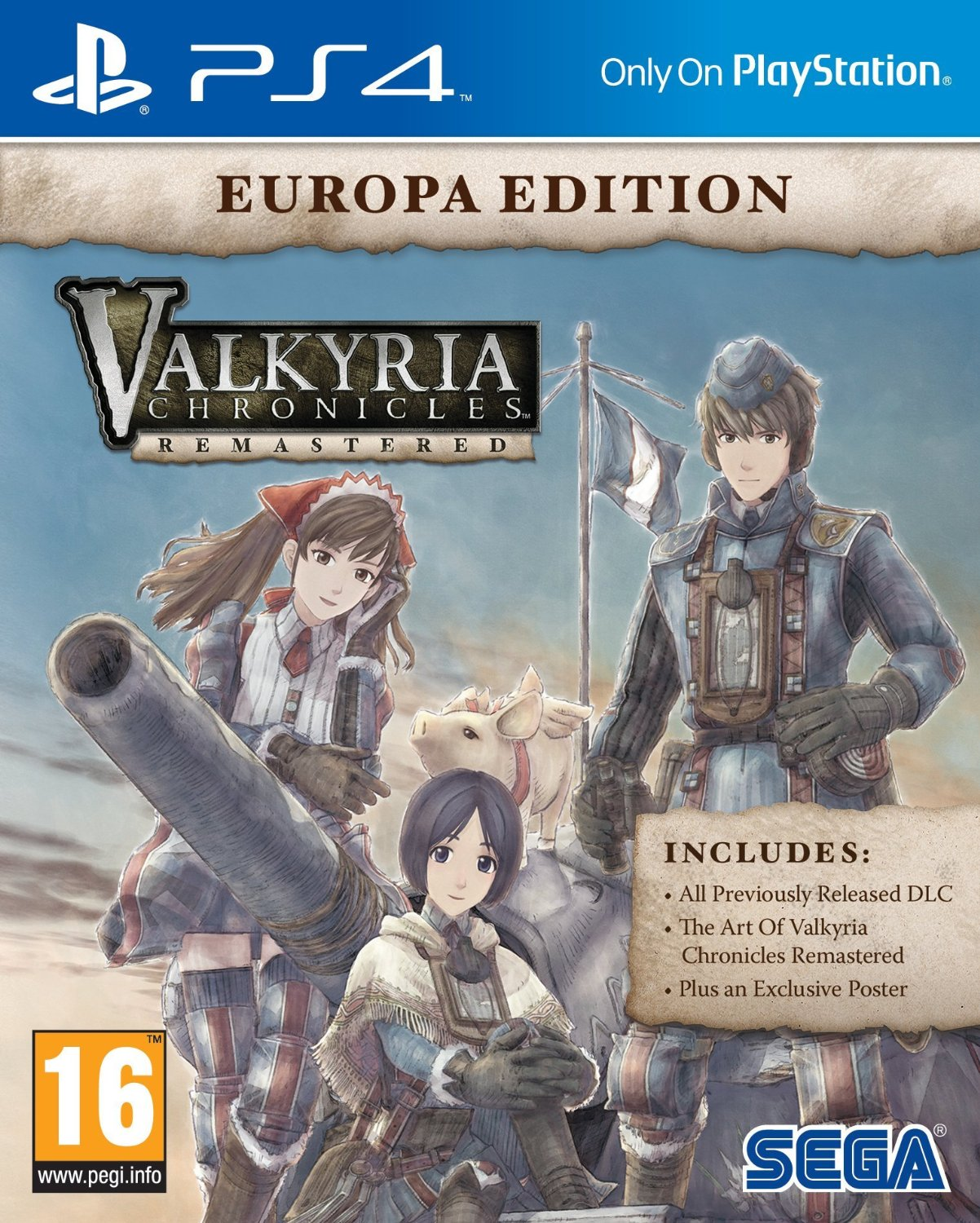 Valkyria Chronicles Remastered. Europa Edition